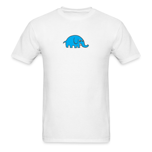 Cartoon elephant - Men's T-Shirt