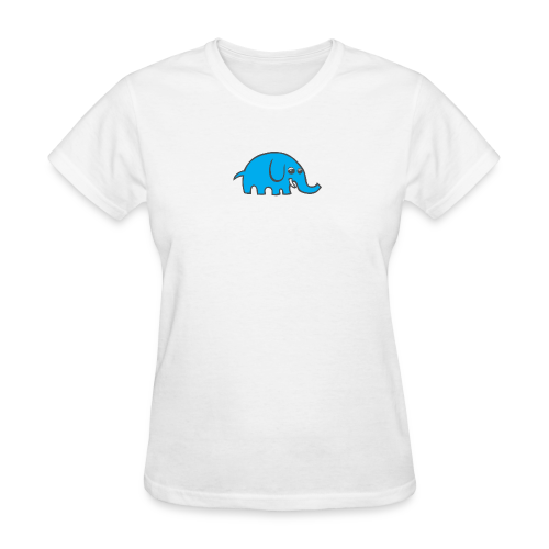 Cartoon elephant - Women's T-Shirt