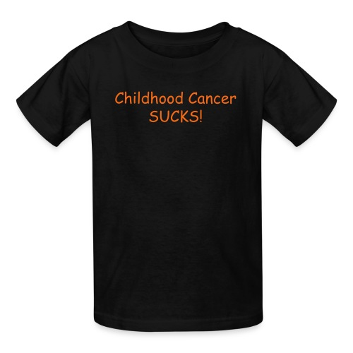 Childhood Cancer sucks - Kids' T-Shirt