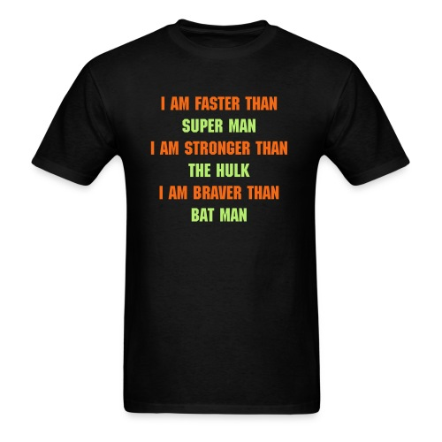 I AM A SUPERHERO! - Men's T-Shirt