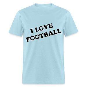 I Love Football. TM  Mens Shirt - Men's T-Shirt