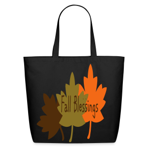 Fall Blessings - Eco-Friendly Cotton Tote