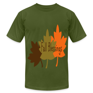 Fall Blessings - Men's T-Shirt by American Apparel