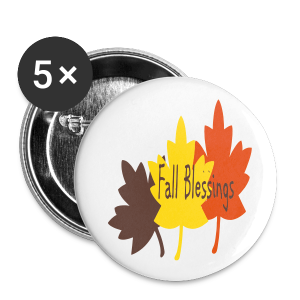 Fall Blessings - Small Buttons