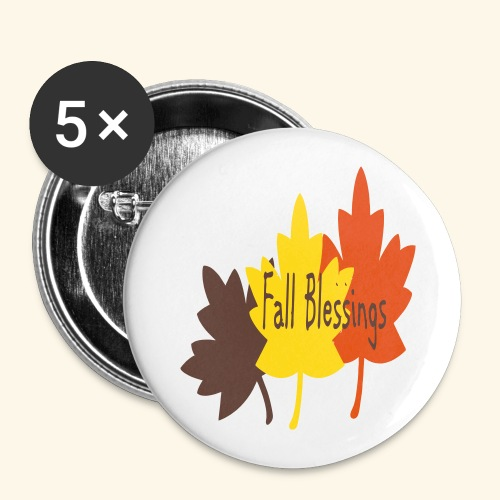 Fall Blessings - Large Buttons