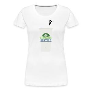 Strawless In Seattle (Womens) - Women's Premium T-Shirt