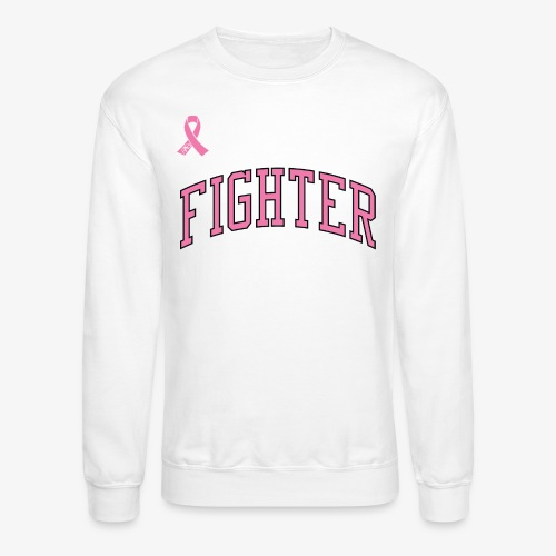 PINK FIGHTER Crewneck Sweater - Crewneck Sweatshirt