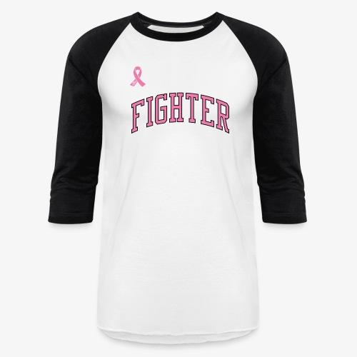 PINK FIGHTER Baseball Tee - Baseball T-Shirt