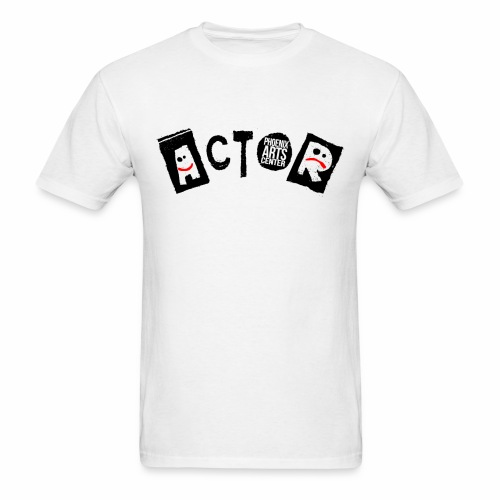 Phoenix Actor T-Shirt - Black Type - Men's T-Shirt