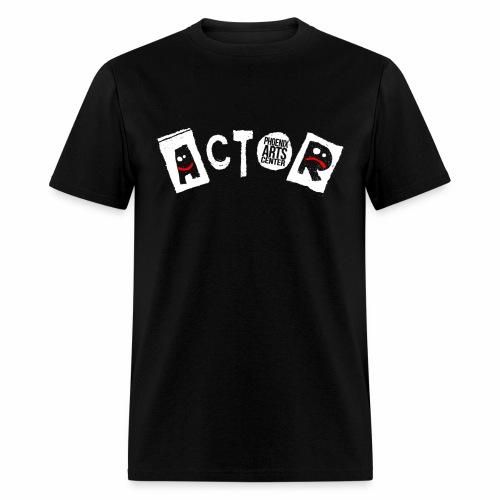 Phoenix Actor Men's T-Shirt - White Type - Men's T-Shirt