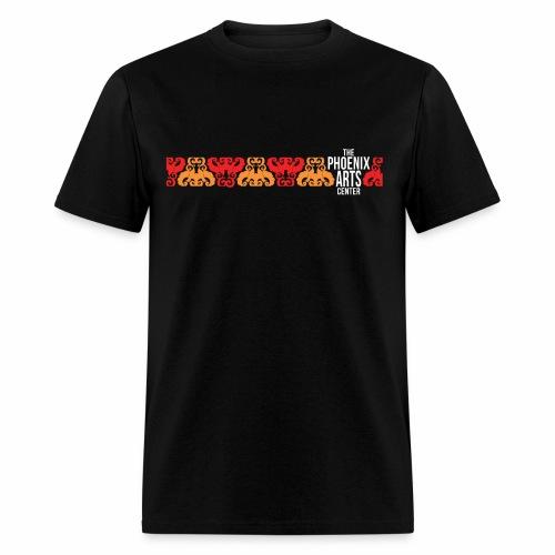 Phoenix Stripe Men's T-Shirt - White Type - Men's T-Shirt