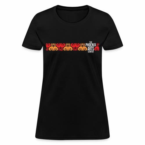 Phoenix Stripe Women's T-Shirt - White Type - Women's T-Shirt