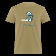 T-Shirts ~ Men's T-Shirt ~ Soccer Ball Men's Standard Weight T-Shirt