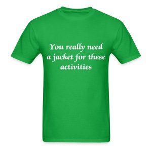 Jacket for activities - Men - Men's T-Shirt