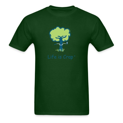 Golf Tree Men's Standard Weight T-Shirt - Men's T-Shirt