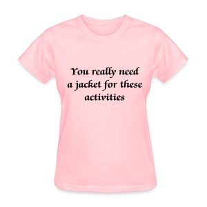 Jacket for activities - Women - Women's T-Shirt