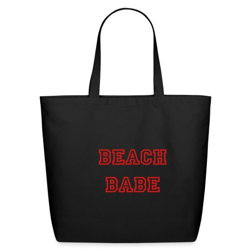 BEACH BABE BAG  - Eco-Friendly Cotton Tote