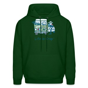 Crop Stop - Mens Hooded Sweatshirt - Men's Hoodie