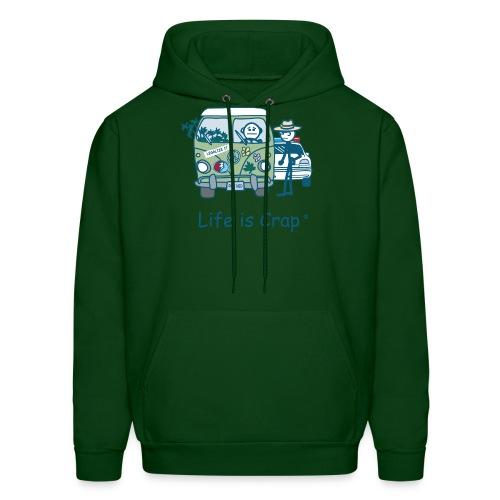 Crop Stop - Mens Hooded Sweatshirt - Men's Hoodie