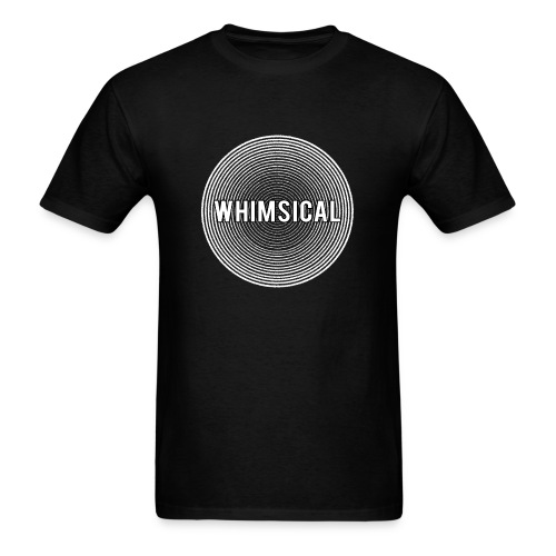 Whimsical - Sound Wave Logo - Men's T-Shirt