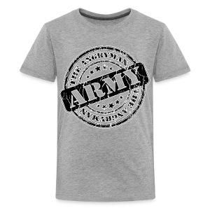 The Angryman Army Tee/Grey Kids - Kids' Premium T-Shirt