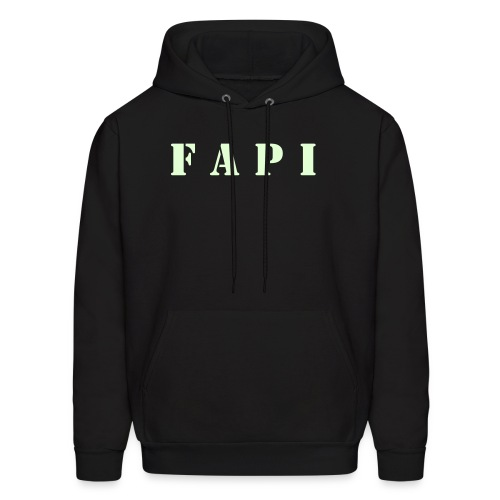 Men's FAPI Logo Sweatshirt, Glow in the Dark - Men's Hoodie