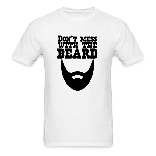 Beards are better - Men's T-Shirt