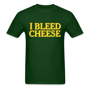 I Bleed Cheese - Men's T-Shirt