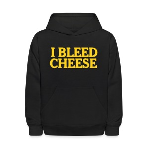I Bleed Cheese - Kids' Hoodie