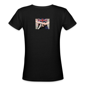 On His Majesty's Secret Service T-shirt - Women's V-Neck T-Shirt