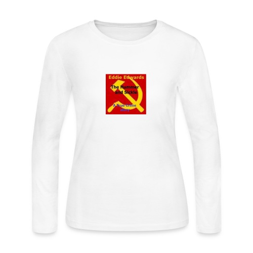 Hammer and Sickle shirt - Women's Long Sleeve Jersey T-Shirt