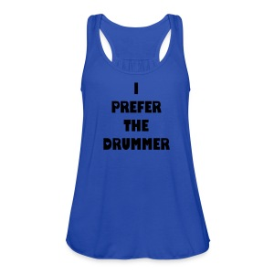 Drummer - Women's Flowy Tank Top by Bella