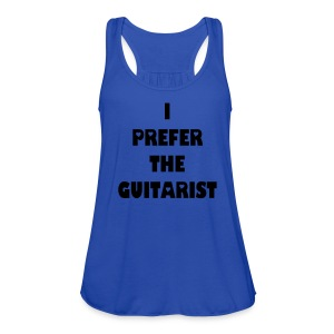 Guitarist - Women's Flowy Tank Top by Bella