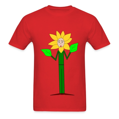 Flowerman - Men's T-Shirt