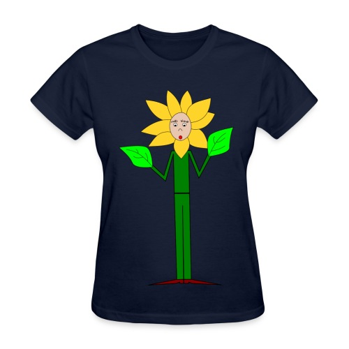 Flowerman - Women's T-Shirt