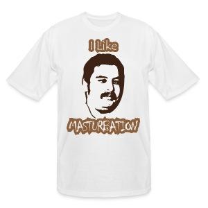 Chris Wreckless Masturbation Tall Shirt - Men's Tall T-Shirt