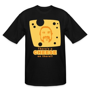 Chuck Roland Cheese Tall Shirt - Men's Tall T-Shirt