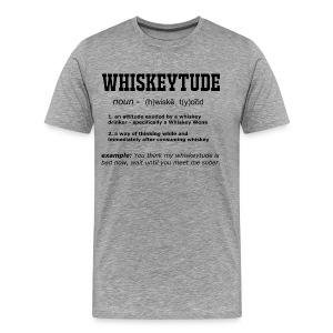Definition: Whiskeytude - Tee - Men's Premium T-Shirt
