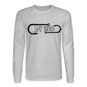 Stay Hooked Men's Long Sleeve T-Shirt - Men's Long Sleeve T-Shirt