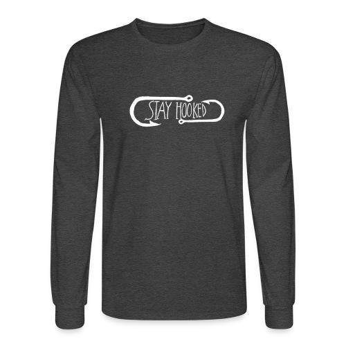 Stay HookedMen's Long Sleeve T-Shirt - Men's Long Sleeve T-Shirt