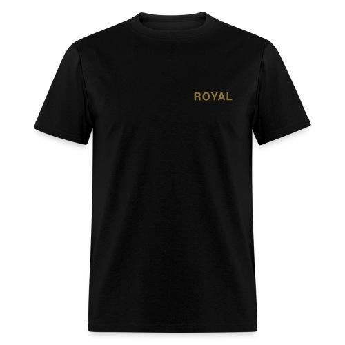 Royal Black & Gold - Men's T-Shirt