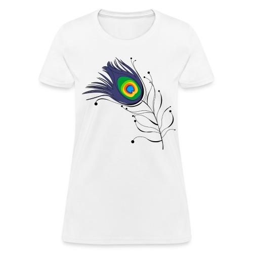 Peacock - Women's T-Shirt