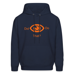 did i do that? - Men's Hoodie