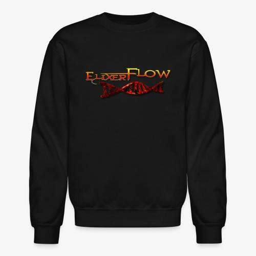 Elixer Flow Logo (Double Helix) - Crewneck Sweatshirt