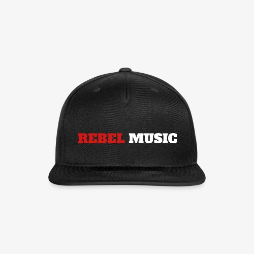 Rebel Music Snapback - Snap-back Baseball Cap