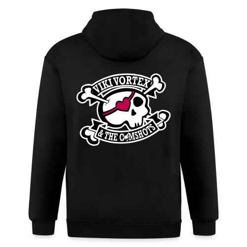 VVATC Zippy Skull Hoodie - Men's Zip Hoodie