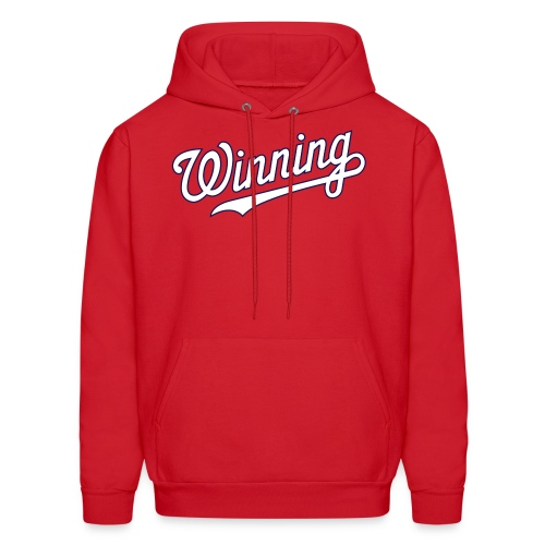 Winning Hoodie - Red - Men's Hoodie
