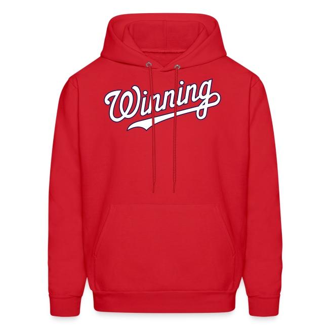 """""""Winning"""" Hoodie - Red"""