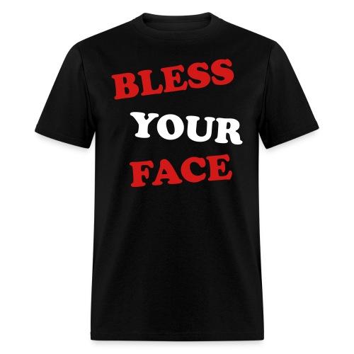 BLESS YOUR FACE Men's T-Shirt - Men's T-Shirt