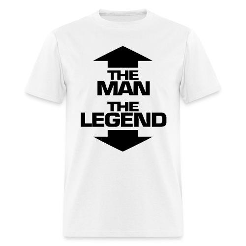The Man, The Legend - Men's T-Shirt
